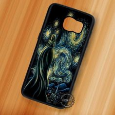 Painting Art Darth Vader Star Wars Starry Night - Samsung Galaxy S7 S6 S5 Note 7 Cases & Covers
