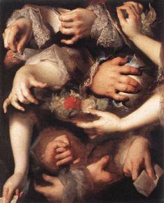Study of Hands - Nicolas de LARGILLIÈRE - c. 1715 Oil on canvas, 65 x 52 cm…