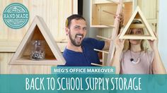 Back-To-School Supply and Craft Storage with Dan Faires - HGTV Handmade