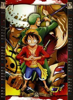 One Piece Calendario 2012 (4)