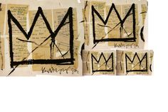 Corona Big Bang - Tatuaje G-Dragon (Big Bang Crown - G-Dragon tattoo in clay) Basquiat Tattoo, Jm Basquiat, Jean Michel Basquiat, Radiant Child, Boutique Design, How To Find Out, Ink, Artist, Tatoos
