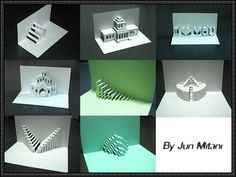 Lots of Pop-Up Paper Crafts Free Download