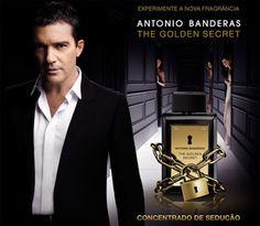 Perfumes Importados The Golden Secret Masculino de Antonio Banderas.  Um concentrado de sedução.  http://www.segperfumesimportados.com/loja/antonio-banderas