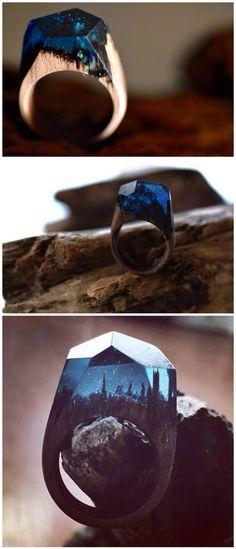 wood & ring