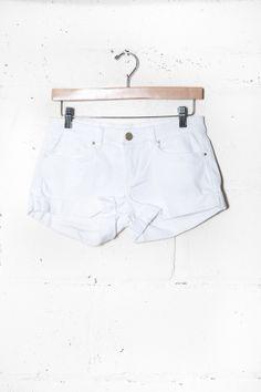 White Shorts | Parc Boutique
