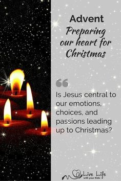 Advent – Preparing our Heart this Christmas - Live life with your Kids!
