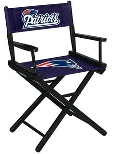 New England Patriots Director's Chair - Table Height
