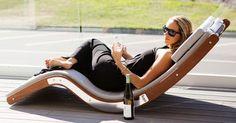 modern outdoor furniture contemporary sun loungers modern garden ideas