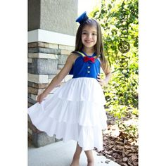 Classic Donald Duck dress by Addy&Tabby