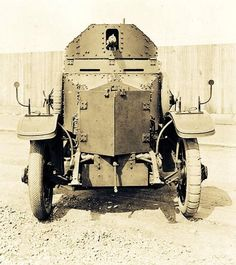 Rolls Royce armoured car, the posh way to go to war. Pin by Paolo Marzioli
