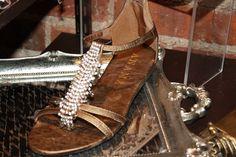 Gold Diamond Sandal