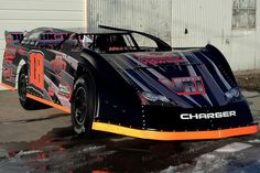 DIRT LATE MODEL: Bobby Dauderman made his 2013 debut at Highland Speedway. New car photos in the link http://BobbyDauderman.com/Photos.htm