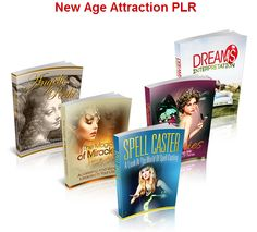 Five New Age products complete with source files, salesletters, minisites and graphics.
