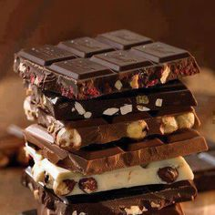 Chocolate Bars #chocolate, #food, #pinsland, https://apps.facebook.com/yangutu/