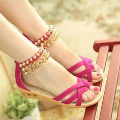 $14.95 (Buy here: https://alitems.com/g/1e8d114494ebda23ff8b16525dc3e8/?i=5&ulp=https%3A%2F%2Fwww.aliexpress.com%2Fitem%2FFree-shipping-2014-spring-and-summer-sweet-Women-shoes-with-rhinestones-rivets-flat-sandals-Women-flats%2F1659416442.html ) Free shipping 2016 spring and summer sweet Women shoes with rhinestones rivets flat sandals Women flats 312 for just $14.95