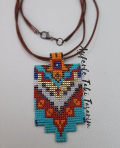 Oohhh iftar after the opening of the blue, blue, blue - good evening do . Seed Bead Jewelry, Diy Jewelry, Beaded Jewelry, Beaded Bracelets, Loom Patterns, Beading Patterns, Native American Earrings, Native Beadwork, Gift Bows