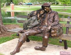 Departure by George Lundeen / Loveland, Colorado.  Oh, I love this!  ;p