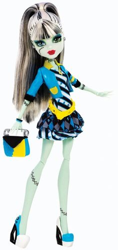 Monster High Frankie Stein Doll Picture Day NEW Mattel Includes Fearbook Monster High Pictures, Monster High Boys, Monster High School, Love Monster, Monster High Party, Monster High Custom, Monster Dolls, Barbie 80s, Ever After High