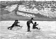 Sledging. 1973, Korniss Péter Dance Photography, Vintage Photography, Web Design, Migrant Worker, Documentary Photographers, Folk Music, Eastern Europe, Historical Photos, Hungary