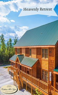 1000 images about large group cabins on pinterest for Heavenly cabin rentals