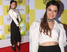 Divya Khosla Kumar at Femina Hair Heroes Awards