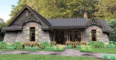 Rugged Rustic 3 Bedroom Home Plan