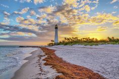 #capeflorida Cape Florida Lighthouse, Great American Road Trip, Places In Florida, Travel Information, Wonderful Places, Explore, Beach, Water, Outdoor
