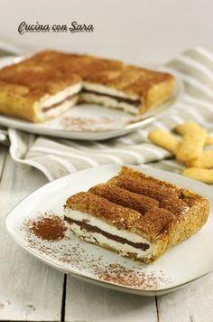 Torta fredda pavesini, cucina con sara