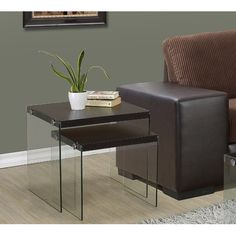 Found it at AllModern - Two Piece Nesting Table Set