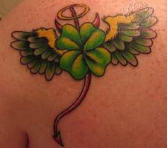 30+ Cute Four Leaf Clover Tattoos - Hative