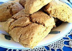 Sweet Potato Biscuits    http://positivelyvegan.blogspot.com/2011/11/sweet-potato-biscuits.html