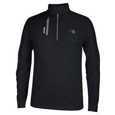 Orlando Magic adidas Mixed Media 1/4 Zip ClimaLITE Pullover Jacket - Black - $79.99