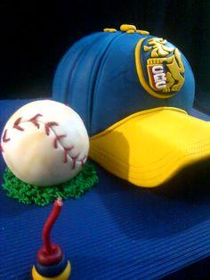 Creando en azucar. Gorra beisbol.