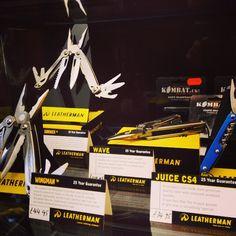 Leatherman display @PlatoonStores