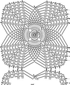 See how diversities of crochet patterns with various ideas with free graphics Irish Crochet Patterns, Crochet Motifs, Crochet Diagram, Doily Patterns, Crochet Squares, Thread Crochet, Crochet Designs, Crochet Stitches, Crochet Dollies