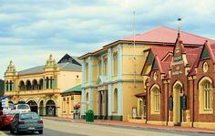 The main St of Zeehan, Tasmania