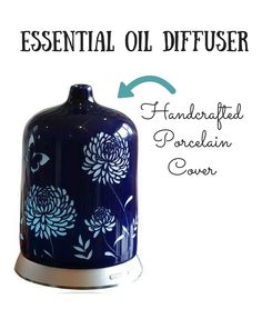Have you seen this diffuser?   beautiful!! handcrafted porcelain cover and great reviews