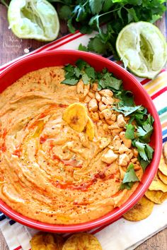 Sriracha Lime White Bean Hummus is a fun, spiced-up twist on the traditional chickpea dip! In less than 10 minutes you can be wowing guests with this flavor-packed creamy white bean appetizer. (gluten-free and vegan)