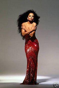 Diana Ross by Photographer Victor Skrebneski
