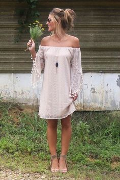 Off the shoulder tops  and  dresses