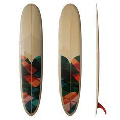 DC Valliant Pin 9´6. Drifwood Caravan Surfboard.
