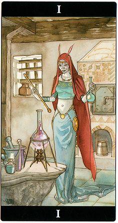 The Magician - Tarot of the Dream Enchantress                                                                                                                                                                                 More