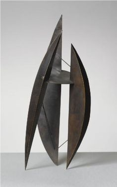 Robert Adams Three Forms 1951 Copper Height 12 inches