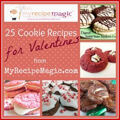 25 Cookie Recipes for Valentine's Day