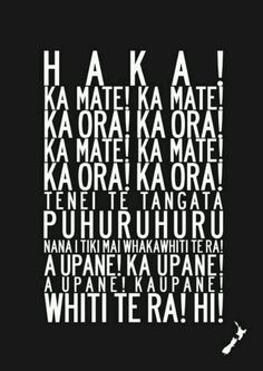 The Haka. The tradition of the Maori, as well as the New Zealand national teams Rugby League, Rugby Players, Citation Rugby, Rugby Quotes, Son Hak, All Blacks Rugby, New Zealand Rugby, Nz Art, Rugby World Cup