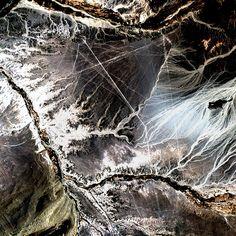 nasa image, nazca lines, peru