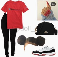 Dope Swag Outfits, Boujee Outfits, Swag Outfits For Girls, Model Outfits, Teenage Girl Outfits, School Outfits, Trendy Outfits, Teen Girl Fashion, Girls Fashion Clothes