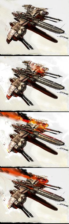 spaceship in trouble in4steps by paulboutros on deviantART