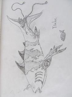 diseño de dios mitologico azteca