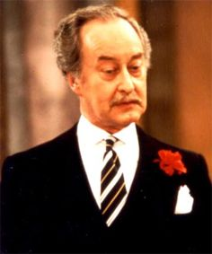 Frank Thornton as Captain Peacock -  Are You Being Served?